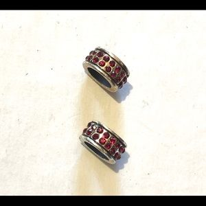 🆕Listing! Brighton spacers with red crystals